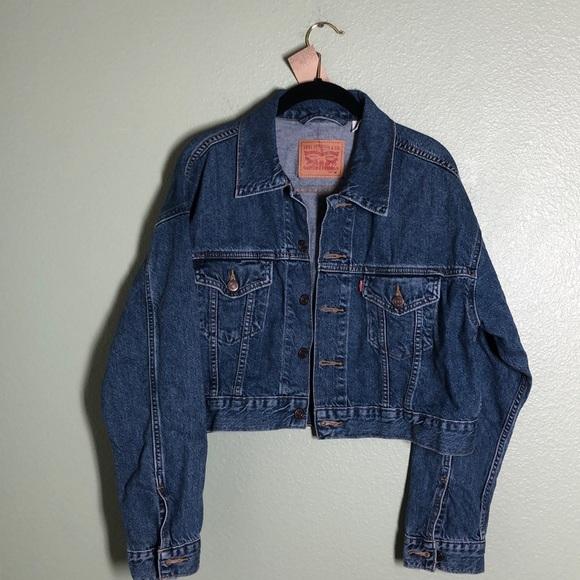 Levi's Jackets & Blazers - LEVI'S Cropped Jean Jacket